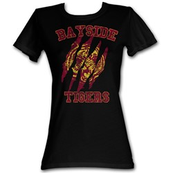 Saved By The Bell - Bayside Claws Womens T-Shirt In Black