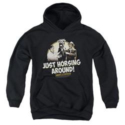 Abbott & Costello - Youth Horsing Around Pullover Hoodie