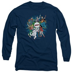 Archie Comics - Mens Psychadelic Archies Long Sleeve T-Shirt