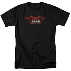 Aerosmith - Mens Winged Logo T-Shirt