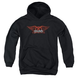 Aerosmith - Youth Winged Logo Pullover Hoodie