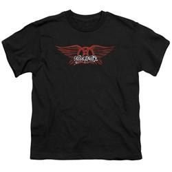 Aerosmith - Youth Winged Logo T-Shirt