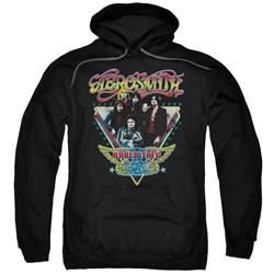 Aerosmith - Mens Triangle Stars Pullover Hoodie