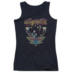 Aerosmith - Juniors Triangle Stars Tank Top