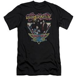 Aerosmith - Mens Triangle Stars Slim Fit T-Shirt