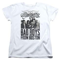 Aerosmith - Womens Bad Boys T-Shirt