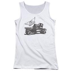 Aerosmith - Juniors Pump Tank Top