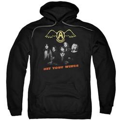 Aerosmith - Mens Get Your Wings Pullover Hoodie