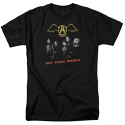 Aerosmith - Mens Get Your Wings T-Shirt
