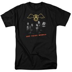 Aerosmith - Mens Get Your Wings T-Shirt