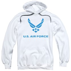 Air Force - Mens Distressed Logo Pullover Hoodie
