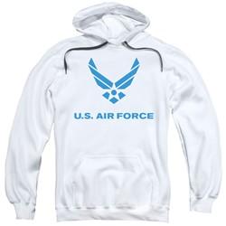 Air Force - Mens Distressed Logo Pullover Hoodie