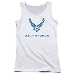Air Force - Juniors Distressed Logo Tank Top