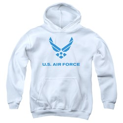 Air Force - Youth Distressed Logo Pullover Hoodie