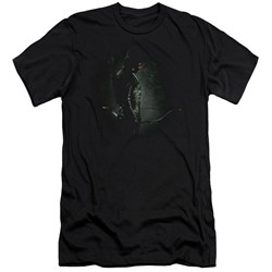 Green Arrow - Mens In The Shadows Slim Fit T-Shirt