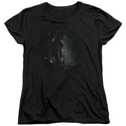 Green Arrow - Womens In The Shadows T-Shirt