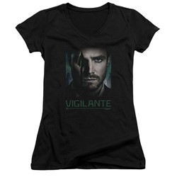 Green Arrow - Womens Good Eye V-Neck T-Shirt
