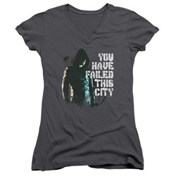 Green Arrow - Womens You Have Failed V-Neck T-Shirt