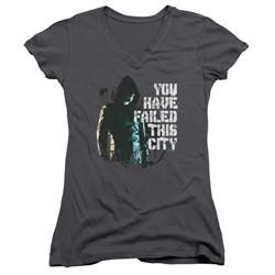 Green Arrow - Womens You Have Failed V-Neck T-Shirt