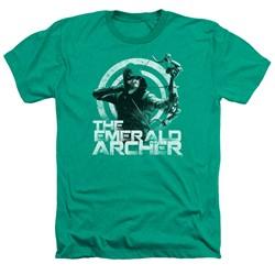 Green Arrow - Mens Archer Heather T-Shirt