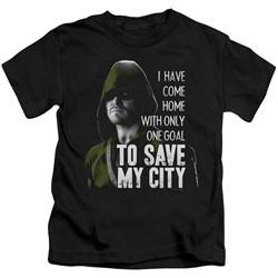 Green Arrow - Little Boys Save My City T-Shirt