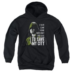 Green Arrow - Youth Save My City Pullover Hoodie