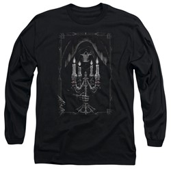 Anne Stokes - Mens Candelabra Long Sleeve T-Shirt