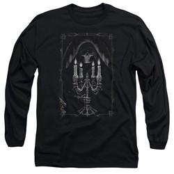 Anne Stokes - Mens Candelabra Long Sleeve T-Shirt