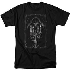 Anne Stokes - Mens Candelabra T-Shirt