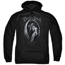 Anne Stokes - Mens Dance With Death Pullover Hoodie