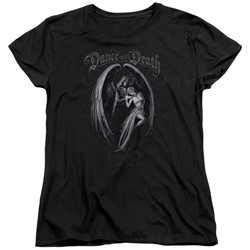 Anne Stokes - Womens Dance With Death T-Shirt