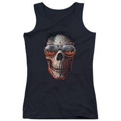 Anne Stokes - Juniors Hellfire Tank Top