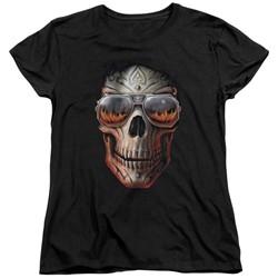 Anne Stokes - Womens Hellfire T-Shirt