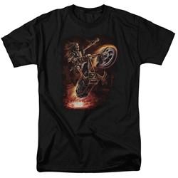 Anne Stokes - Mens Hellrider T-Shirt