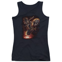 Anne Stokes - Juniors Hellrider Tank Top