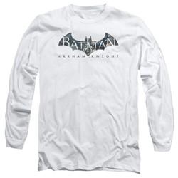 Batman - Mens Descending Logo Long Sleeve T-Shirt