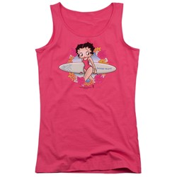 Betty Boop - Juniors Surf Tank Top