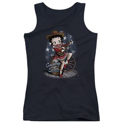 Betty Boop - Juniors Country Star Tank Top