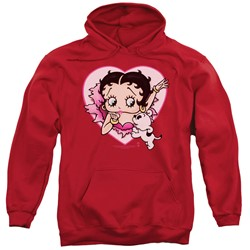 Betty Boop - Mens I Love Betty Pullover Hoodie