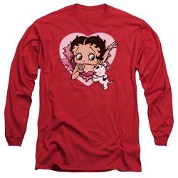 Betty Boop - Mens I Love Betty Long Sleeve T-Shirt
