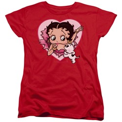 Betty Boop - Womens I Love Betty T-Shirt