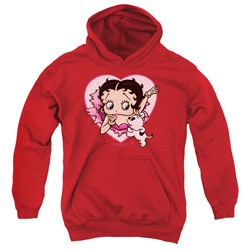Betty Boop - Youth I Love Betty Pullover Hoodie