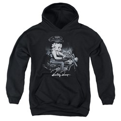 Betty Boop - Youth Storm Rider Pullover Hoodie
