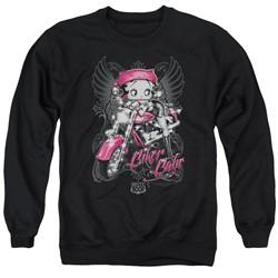 Betty Boop - Mens Biker Babe Sweater