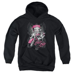 Betty Boop - Youth Biker Babe Pullover Hoodie