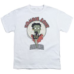 Betty Boop - Big Boys Breezy Zombie Love T-Shirt
