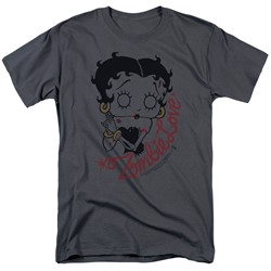 Betty Boop - Mens Classic Zombie T-Shirt