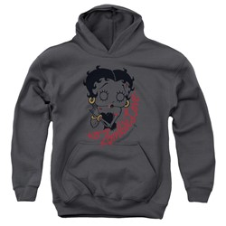 Betty Boop - Youth Classic Zombie Pullover Hoodie
