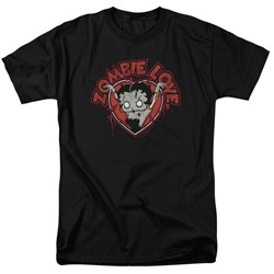 Betty Boop - Mens Heart You Forever T-Shirt