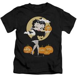 Betty Boop - Little Boys Vamp Pumkins T-Shirt